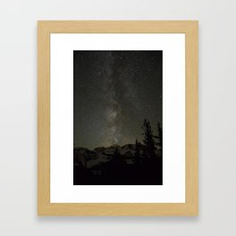 Central Oregon Skies Framed Art Print