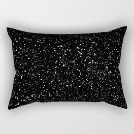 Black Speckle Rectangular Pillow