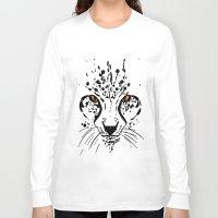 cheetah Long Sleeve T-shirts featuring Cheetah by Danny