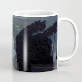 Charles Guilloux - Lever de Lune sur un Canal - Moonrise on a Canal Coffee Mug