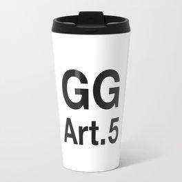 GG Art. 5 Travel Mug