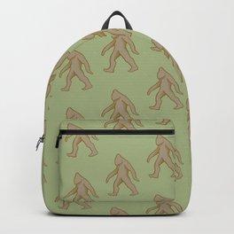 Brown/Green Bigfoot Backpack