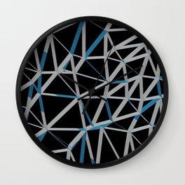 3D Futuristic GEO Lines III Wall Clock
