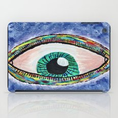 Technicolor Eye iPad Case