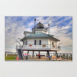 The Hooper Strait Lighthouse Canvas Print