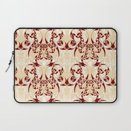 Celtic Loop White Laptop Sleeve