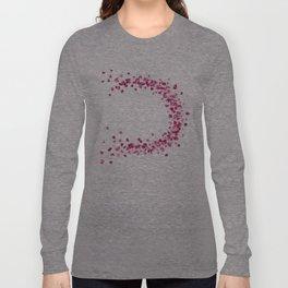 Circular Rose Petals Long Sleeve T-shirt