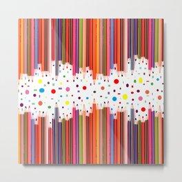 Colorful Pencils - Drawing Tools #society6 #decor #buyart Metal Print