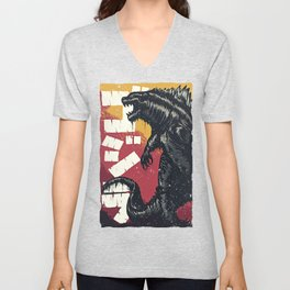 King of the Monsters Unisex V-Neck