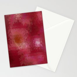 Pink and Red Moon Stationery Cards