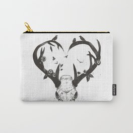 Neverending love (bw) Carry-All Pouch