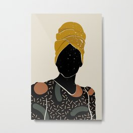 Black Hair No. 10 Metal Print