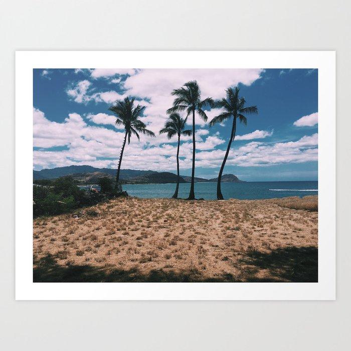 West Side of Oahu Art Print