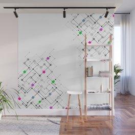 Modern lines Wall Mural