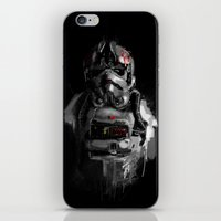 pilot iPhone & iPod Skins featuring Pilot 02 by Rafal Rola