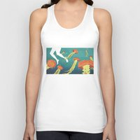 jellyfish Tank Tops featuring jellyfish by Kerry Hyndman