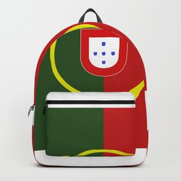 portugal flag Backpack