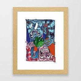 DICE VICE ! Framed Art Print