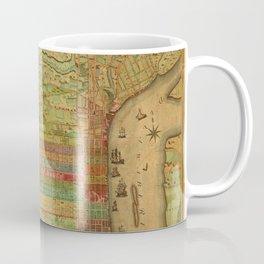 Map of Philadelphia 1802 Coffee Mug