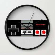 Classic retro Nintendo game controller iPhone 4 4s 5 5c, ipod, ipad, tshirt, mugs and pillow case Wall Clock