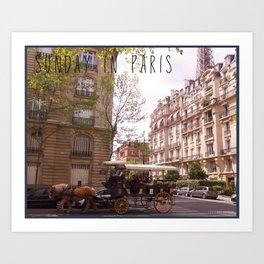 Photo: Sunday in Paris (26 May 13) Art Print