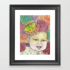 Ugh. Another Baby. Framed Art Print