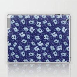 Blue Leaves Start Print Laptop & iPad Skin