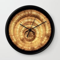 chandelier Wall Clocks featuring chandelier by Minimum