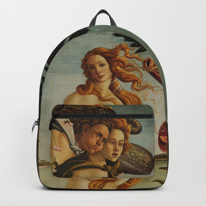 The Birth of Venus by Sandro Botticelli Rucksack
