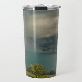 arising storm over lake lucerne Travel Mug