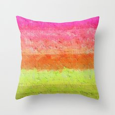 Abstract 2017 037 Throw Pillow