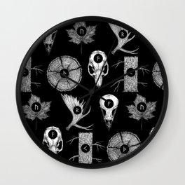 RUNES II Wall Clock