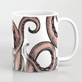 Glamourpuss, Rose Gold Octopus Coffee Mug