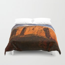 COURTHOUSE ROCK - SEDONA ARIZONA Duvet Cover