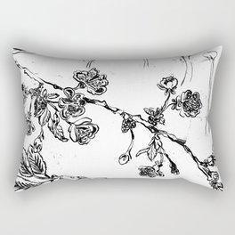 Botanical #CHERRIES Rectangular Pillow