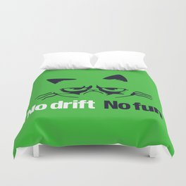 No drift No fun v7 HQvector Duvet Cover