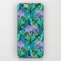 Little Elephant on a Jungle Adventure iPhone & iPod Skin