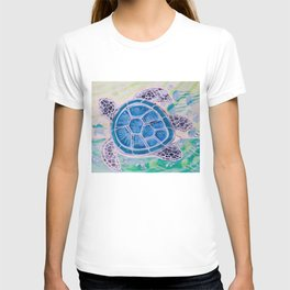 Sea Turtle Geodes T-shirt