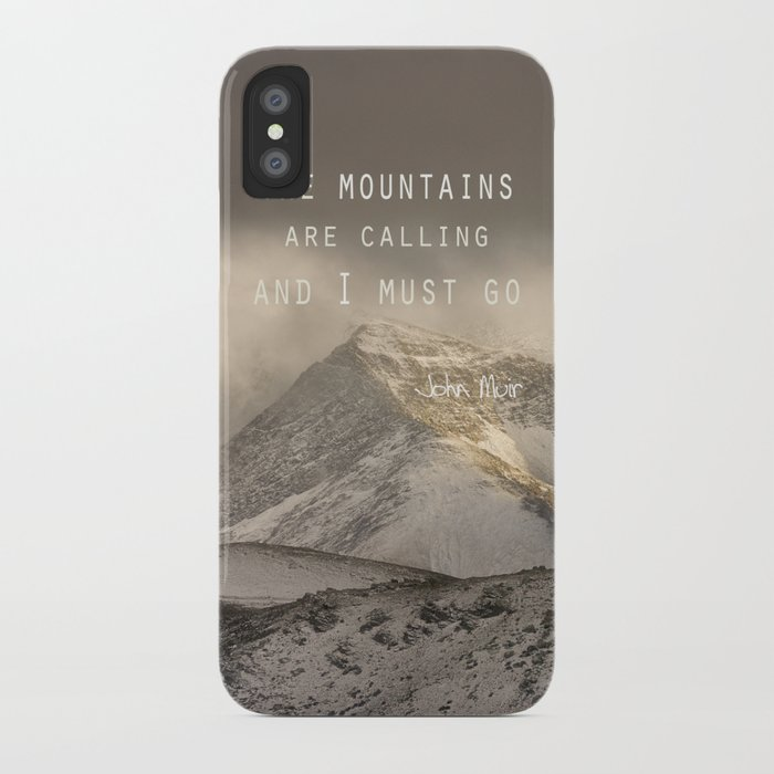 The mountains are calling and i must go john muir for The mountains are calling and i must go metal sign