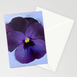 Ultra violet viola tricolor Stationery Cards