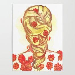 Marigold Hair Poster