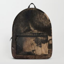 disappear until mourning.. Backpack
