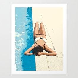 Summer time 1 Art Print