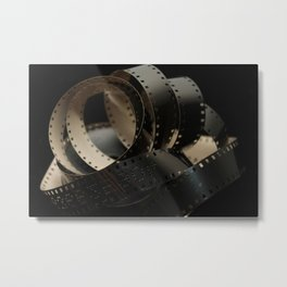 Antique 8mm film Metal Print