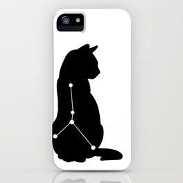 cancer cat iPhone Case