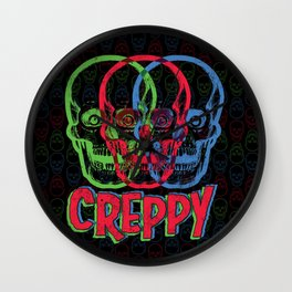 CREPPY Wall Clock