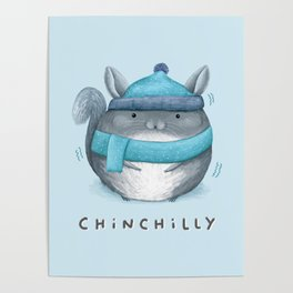 Chinchilly Poster