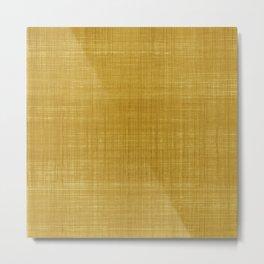 Tissu d'écorce Gold Metal Print