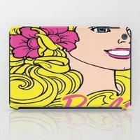 barbie iPad Cases featuring Blonde Barbie by LuxuryLivingNYC