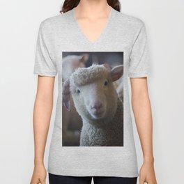 Cute Sheep Unisex V-Neck